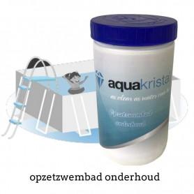 Aqua Kristal opzetzwembad onderhoud