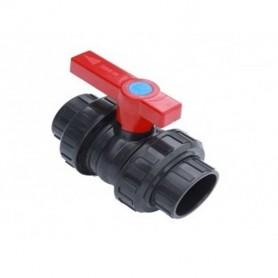 2-weg kogelkraan PVC 50mm PN10