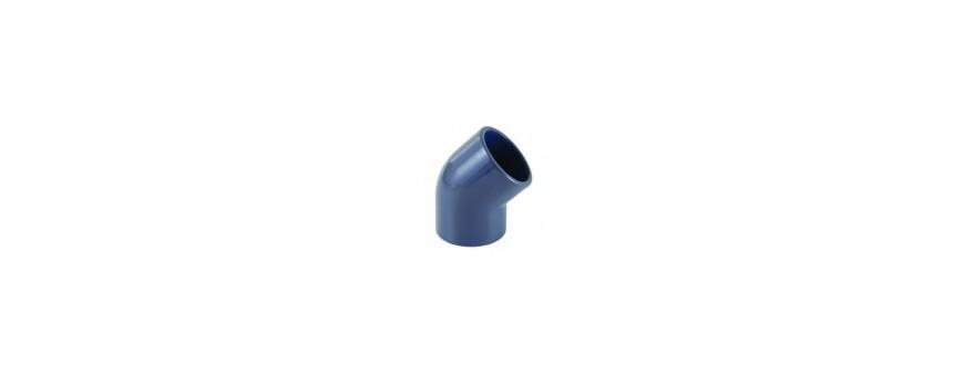 PVC knie 45°