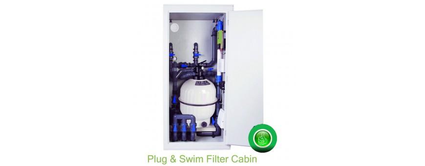 Complete Filterinstallatie &  waterbehandeling voor je zwembad.